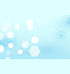 abstract blue and white technology background vector image
