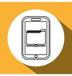 file design Media icon Flat vector image