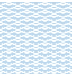 Geometric wave seamless pattern background vector