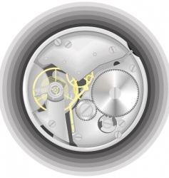 Mechanism of a watch vector