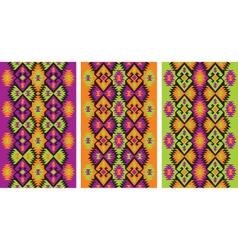 Mexican ethnic frieze vector
