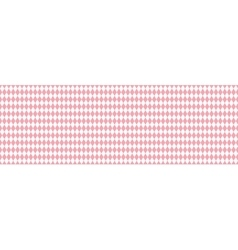 Pink rhombus seamless background vector image