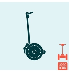 Segway icon isolated vector