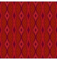 Stylized Uzbek ethnic pattern vector