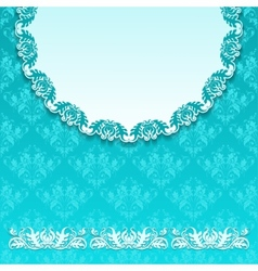 pattern in seamless background vector image