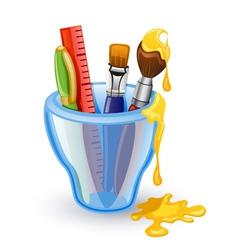 school tools vector image vector image