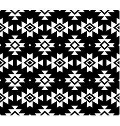 aztec pattern tribal background navajo de vector image