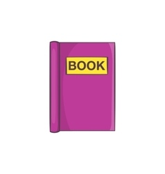 Book to read icon cartoon style vector