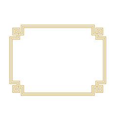 border design vector image