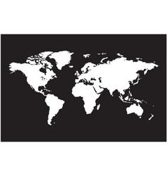 earth map detailed world map vector image