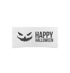 Happy Halloween Party Ticket Design vector