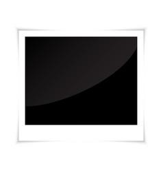 photo frame polaroid vector image