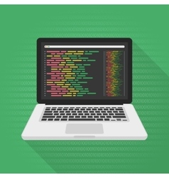 Programming and coding concept vector image