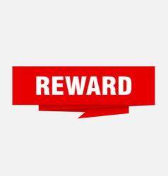 Reward vector