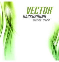 background green sided vector image vector image