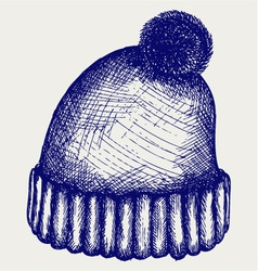 Winter Hat vector image