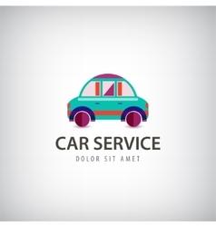 car service logo icon isolated Identity vector image