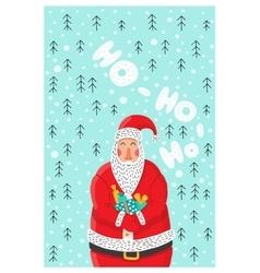 Cartoon character Santa Claus vector image vector image