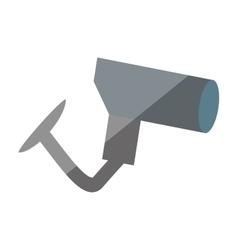 Cartoon security camera privacy protection shadow vector
