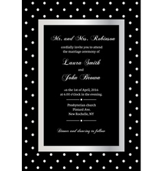 Elegant invitation vector
