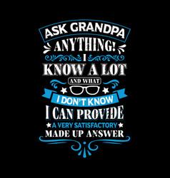 Grandpa t shirts design graphic typography vector