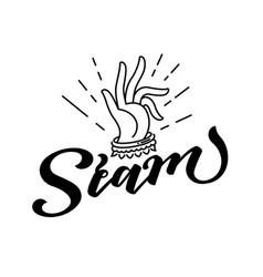 Siam lettering design vector