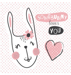 somebunny vector image