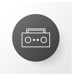 tape icon symbol premium quality isolated vector image