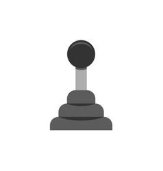 car transmission icon flat vector image