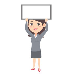 business women character style vector image