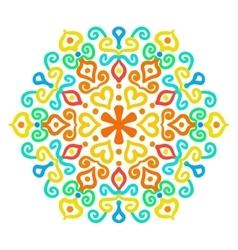 Childish Hexagon Ornament vector