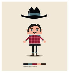 COWBOY TOY vector image