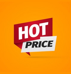 hot price a paper pointer bonus web banner on vector image