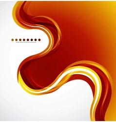 Orange flowing wave vector