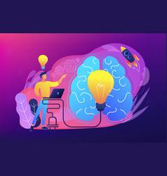 brainstorm concept vector image