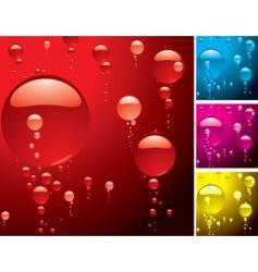 bubble variation vector image