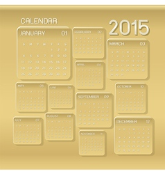 calendar 2015 Abstract background 03 vector image