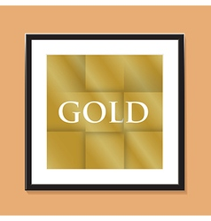 gold paper background vector image