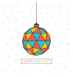 Happy Ball vector image