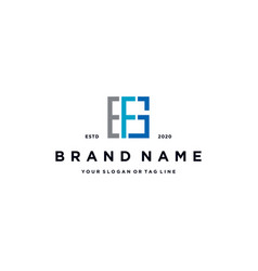 Letter efg logo design vector