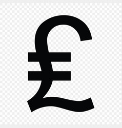 Lira sign currency vector