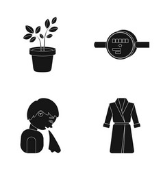 nature equipment medicine and other web icon in vector image