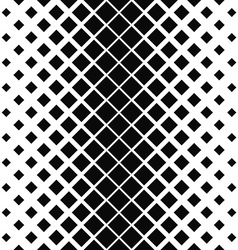 Repeating monochrome square pattern design vector