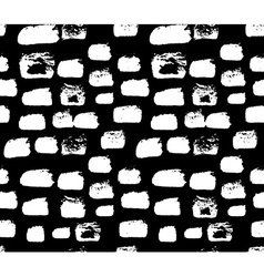 Shaped grunge seamless background ink pattern vector image