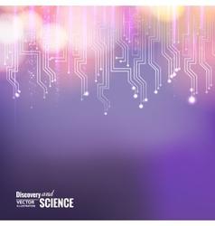 Violet circuit vector