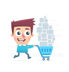 Great shopping vector image vector image