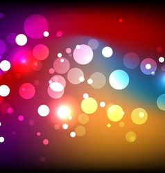 sparkling colorful background vector image vector image