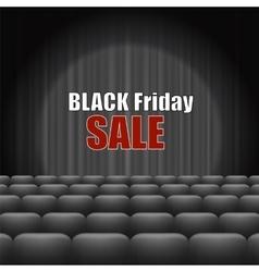 Black Friday Inscription vector image vector image