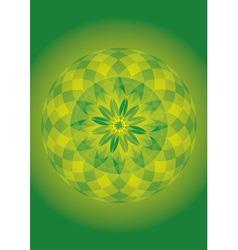 mandala of forest spirit vector image vector image