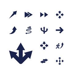 13 forward icons vector